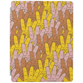 Helping Hands Pattern iPad Cover