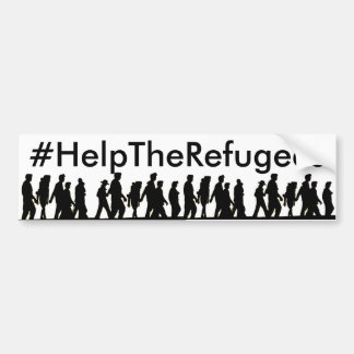 #HelpTheRefugees Bumper Sticker