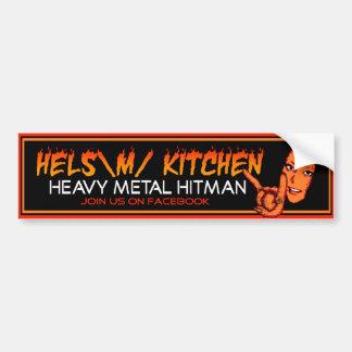 Hels Kitchen Bumper Sticker