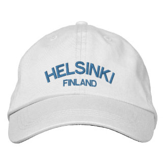 Helsinki Finland Classic Adjustable Hat