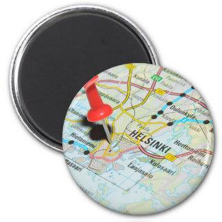 Helsinki, Finland Magnet
