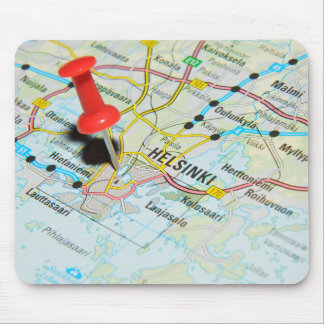 Helsinki, Finland Mouse Pad
