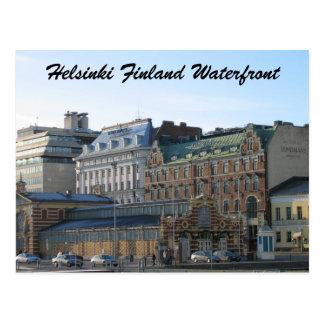 Helsinki Finland Waterfront Postcard