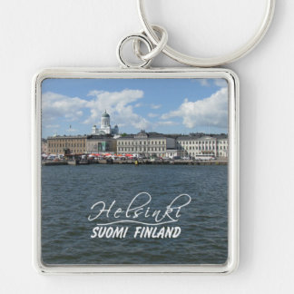 Helsinki Harbor large premium key chain