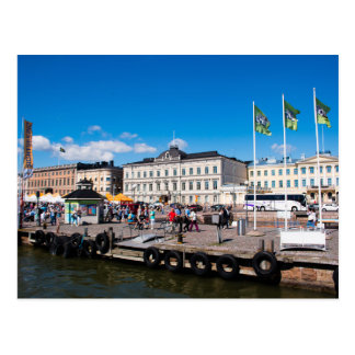 Helsinki Market Square Postcard