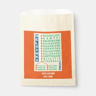 Helsinki Metro Stations custom gift bags