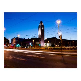 Helsinki Railway Station Postcard