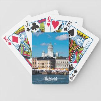 Helsinki Skyline Bicycle Playing Cards