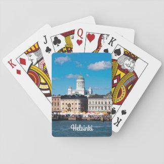 Helsinki Skyline Playing Cards