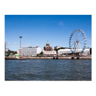 Helsinki Skyline Postcard
