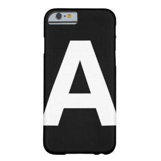 Helvetica Bold letter A, iPhone 6 case