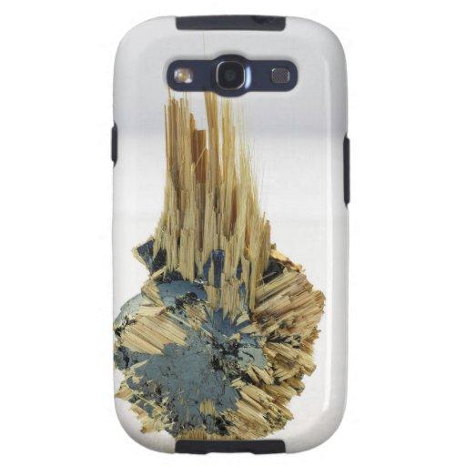 Hematite Healing Crystal Formation Samsung Galaxy S3 Case