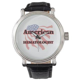 Hématologue américain montres