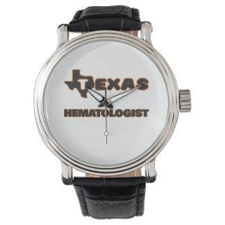 Hématologue du Texas Montres Cadran