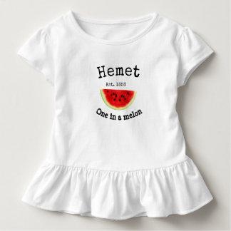 "Hemet California ""one in a melon"" shirt for babies"
