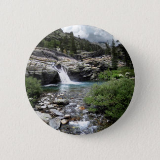 Hemlock Crossing Waterfall - Sierra 2 Inch Round Button