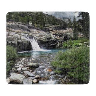 Hemlock Crossing Waterfall - Sierra Cutting Board