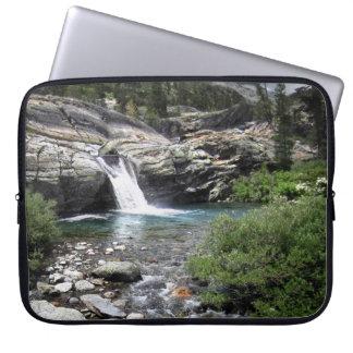 Hemlock Crossing Waterfall - Sierra Laptop Sleeve