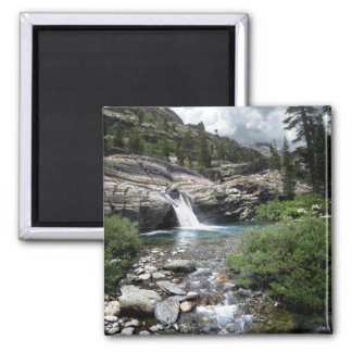 Hemlock Crossing Waterfall - Sierra Magnet