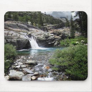 Hemlock Crossing Waterfall - Sierra Mouse Pad