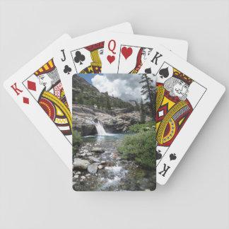 Hemlock Crossing Waterfall - Sierra Playing Cards