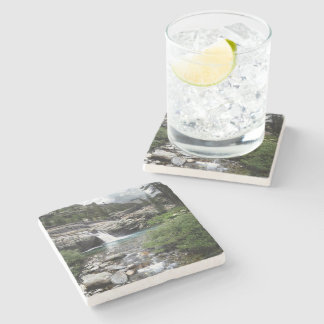 Hemlock Crossing Waterfall - Sierra Stone Coaster