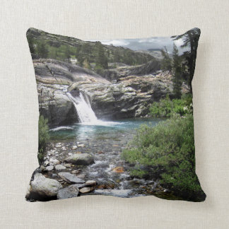 Hemlock Crossing Waterfall - Sierra Throw Pillow