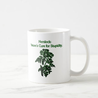 Hemlock: Cure For Stupidity Coffee Mug