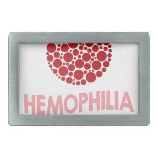 Hemophilia Awareness Month - Appreciation Day Belt Buckle