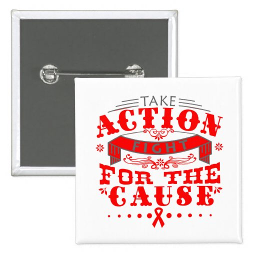 Hemophilia Take Action Fight For The Cause Button