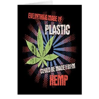 Hemp Plastic Card