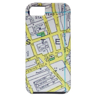 Hempstead, NY Vintage Map Case For The iPhone 5