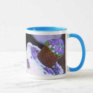 Hemsleys African Violet Mug