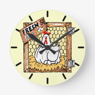 Hen and Eggs-Country Kitchen Clocks
