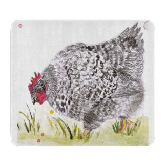 Hen chopping board