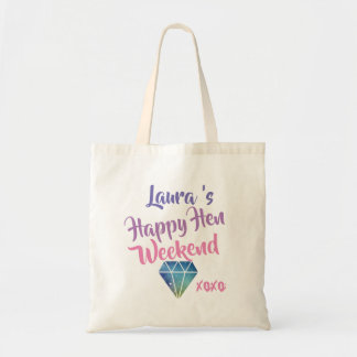 Hen Do weekend bag, bachelorette party Tote Bag