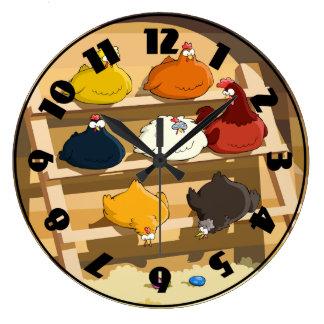 Hen House Clock