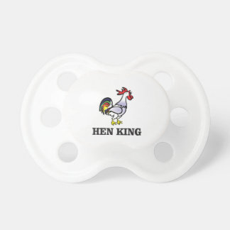hen king rooster pacifiers
