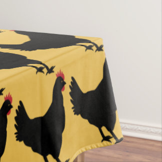 Hen Parade Tablecloth