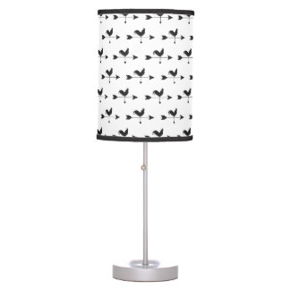 HEN Rooster Country Farm Animal Arrow Table Lamp