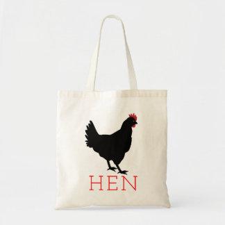 Hen Tote Bag