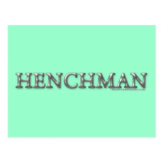 Henchman Postcard
