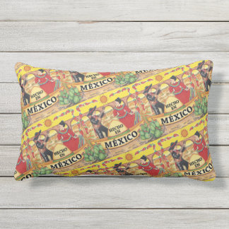 """Hencho En Mexico"" Outdoor Pillow"
