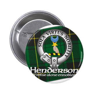 Henderson Clan 2 Inch Round Button