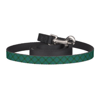 Henderson Clan Tartan Bright Green Plaid Pet Leash