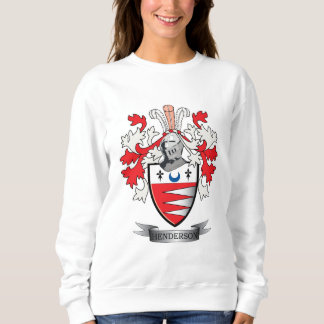 Henderson Family Crest Coat of Arms Sweatshirt