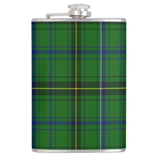 Henderson Scottish Tartan Hip Flask