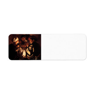 Hendrick Terbrugghen- The Concert Custom Return Address Label
