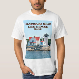 Hendricks Head Lighthouse, Maine T-Shirt