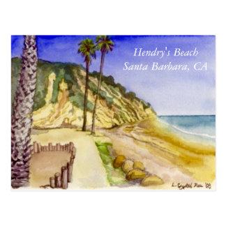 Hendry's Beach Postcard